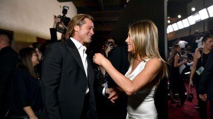 """Dan toch een romance? """"Brad Pitt en Jennifer Aniston zijn volop aan het daten"""""""