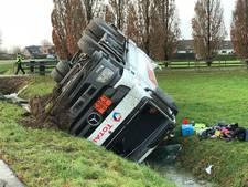 Weg weer open na ongeval dieselwagen