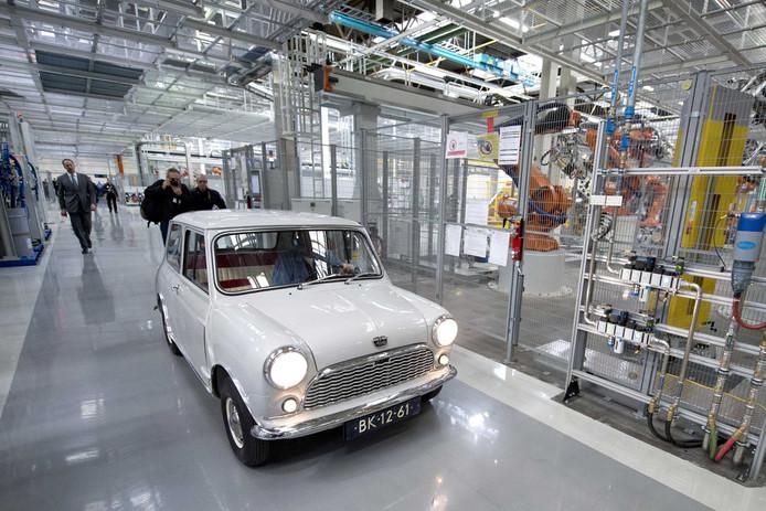 Autofabriek VDL Nedcar in Born.