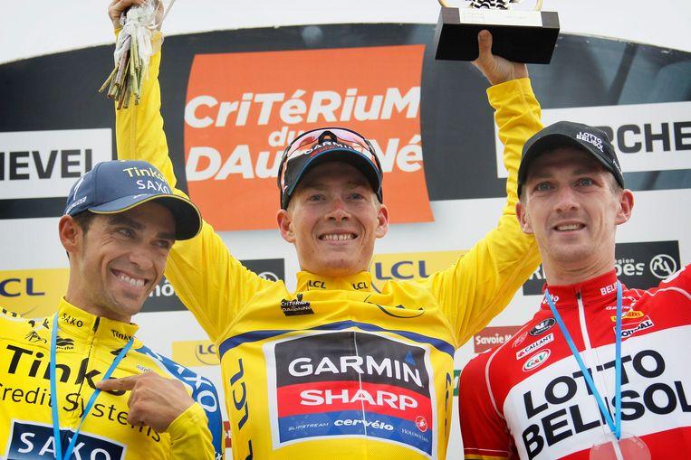 Vorig jaar won Talansky voor Contador en Van den Broeck.