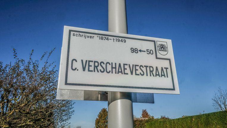 De Cyriel Verschaevestraat, in Marke