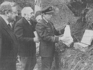 Gedenksteen oorlogsheld Georges Jaspis al jaren verdwenen