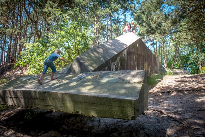De Duitse commandobunker in het bos bij Haamstede wordt toegankelijk gemaakt voor publiek.