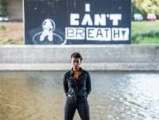 'I can't breathe' muurschildering is manier om gesprek los te maken