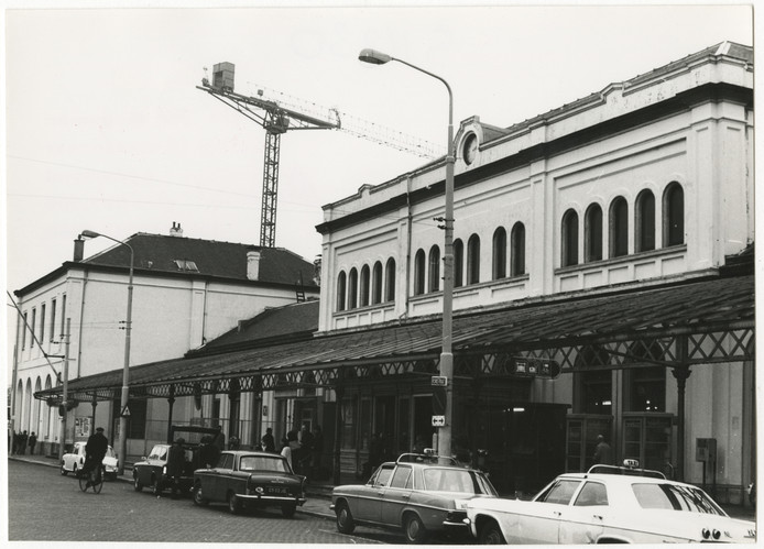 Station Staatsspoor in 1967.