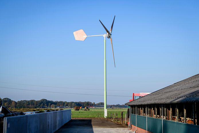 Kleine windmolens tot vijftien meter hoog bij boerderijen zijn de komende jaren waarschijnlijk ook in Steenwijkerland te zien.