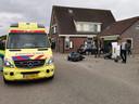 Een ernstige botsing heeft zaterdagavond plaatsgevonden in Didam.