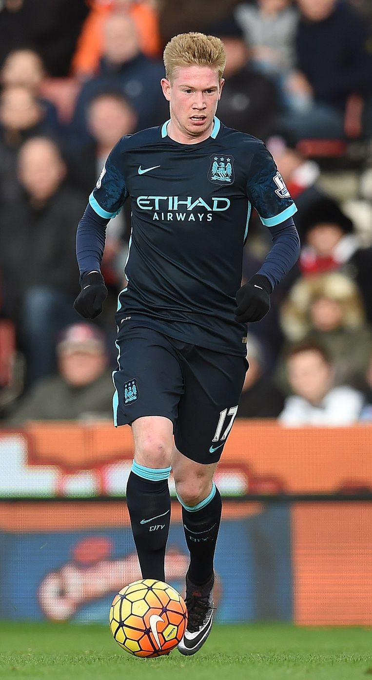 Kevin de Bruyne van Manchester City. Beeld afp