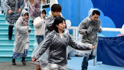Japan houdt evacuatie-oefening in pretpark voor Noord-Koreaanse rakettesten