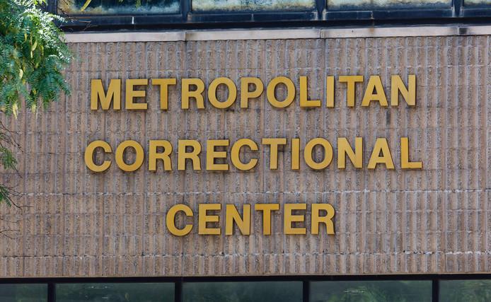 Het Metropolitan Correctional Center waar Epstein vastzat en zich in zijn cel van het leven beroofde.