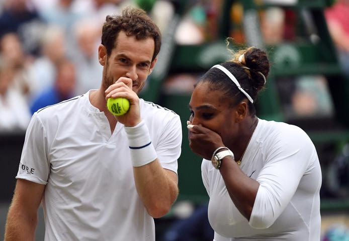 Andy Murray en Serena Williams