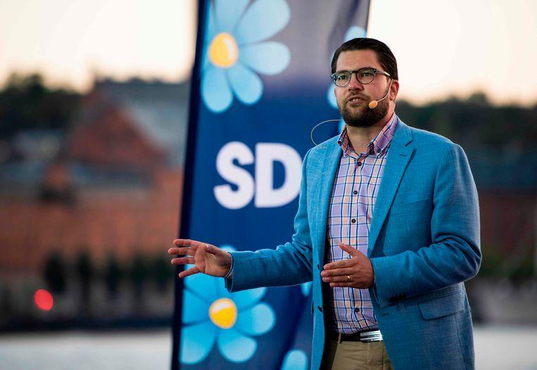 Stevent Jimmie Åkesson van de Zweden Democraten op een overwinningsverkiezing af?