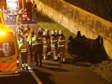 Meerdere gewonden door ongeval op A12 bij Veenendaal