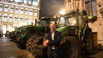 """Van het veld naar 'het schoon verdiep': """"Het voelt als de eerste schooldag"""", zegt aardappelboer en kersvers schepen Johan Geleyns (CD&V)"""
