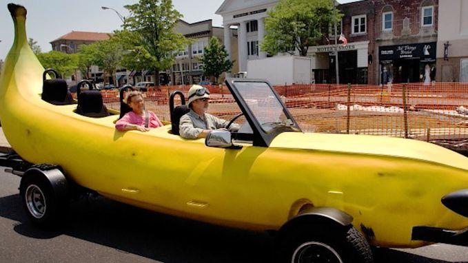 10 bizarre auto's op een rij