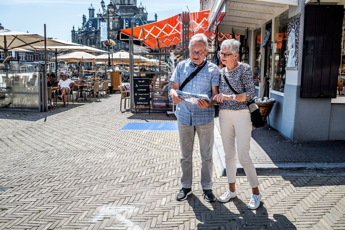 Toeristen komen langzaam terug naar Delft.