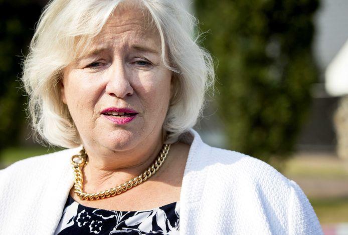 Marianne Schuurmans als burgemeester van Lingewaard. Het is al meer dan een jaar geleden dat zij vertrok naar Haarlemmermeer.