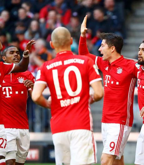 Bayern maakt ondanks stroef begin geen fout