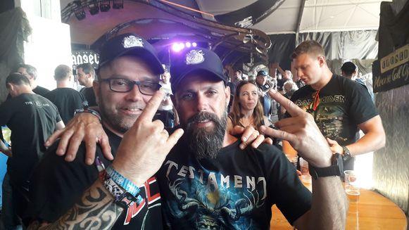 Gerrit en Nico zijn metalfans van het eerste uur...