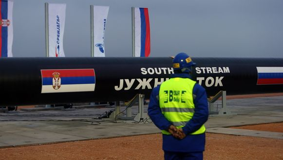 De lancering van het South Stream-project in november vorig jaar.