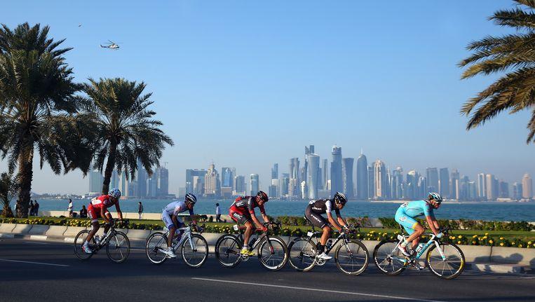 De wielersport in het Midden-Oosten wint steeds meer aan populariteit en dat vertolkt zich ook in meer wedstrijden.