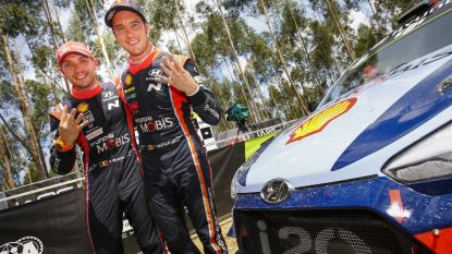 NEUVILLE 'Driver of the Year', copiloot Gilsoul pas tweede