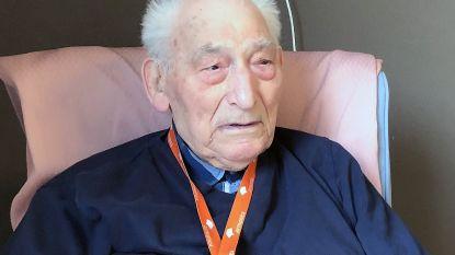Oud-strijder François viert 100ste verjaardag