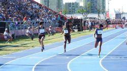 Mariam Oulare sprint naar zesde plaats op 100 meter Olympische Jeugdspelen
