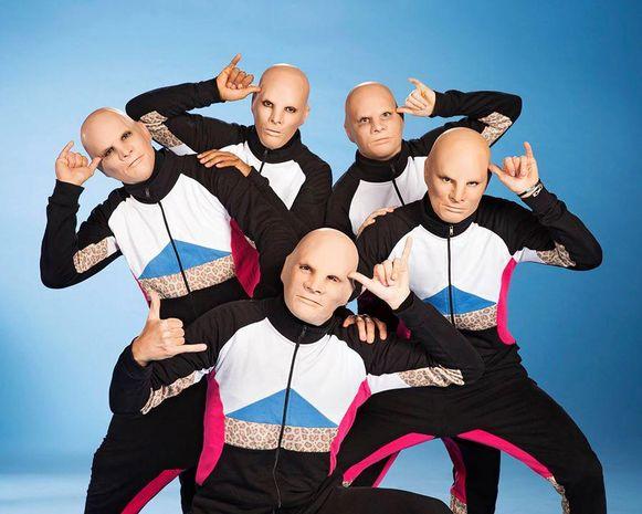 De gemaskerde dansers van Baba Yega wisten de jongste editie van Belgium's Got Talent te winnen.