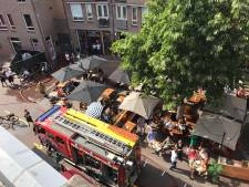 Brand op dakterras Minderbroedersplein domper op eerste terrasdag Den Bosch