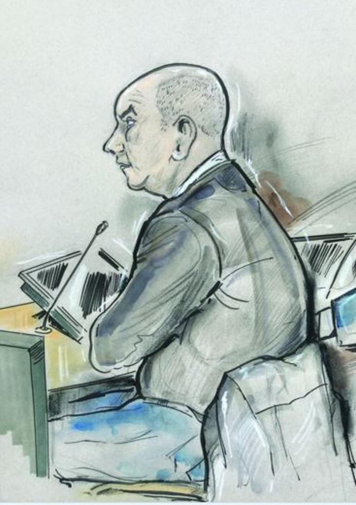 John den B. verschijnt komende week weer voor de rechter.