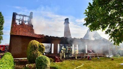 96-jarige man sterft in brand na hevige gasontploffing