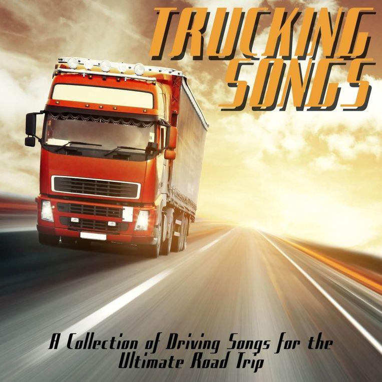 Een verzameling Amerikaanse trucking songs. Beeld