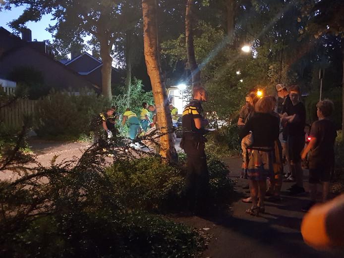 Fietsster aangereden op de Hutdijk in Aalst.