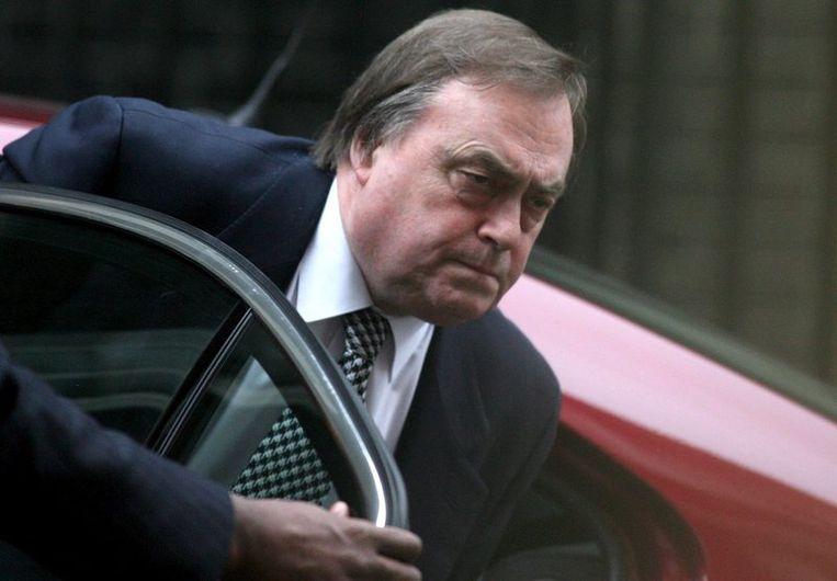 John Prescott, die vicepremier was onder Tony Blair, verklaarde tegenover de BBC dat hem nooit is meegedeeld dat zijn telefoon werd afgetapt. Foto EPA Beeld