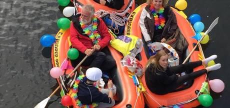 Rubberenboten Party in Den Bosch valt in het water: weinig tot geen animo