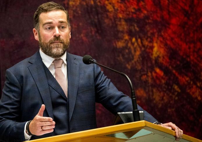 VVD-fractieleider Klaas Dijkhoff (VVD).