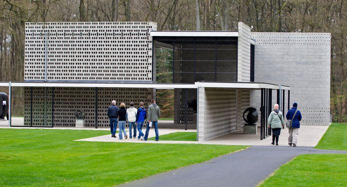 Het Kroller-Muller Museum, gelegen in Het Nationale Park de Hoge Veluwe.