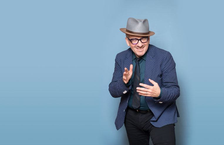Elvis Costello.  Beeld Els Zweerink