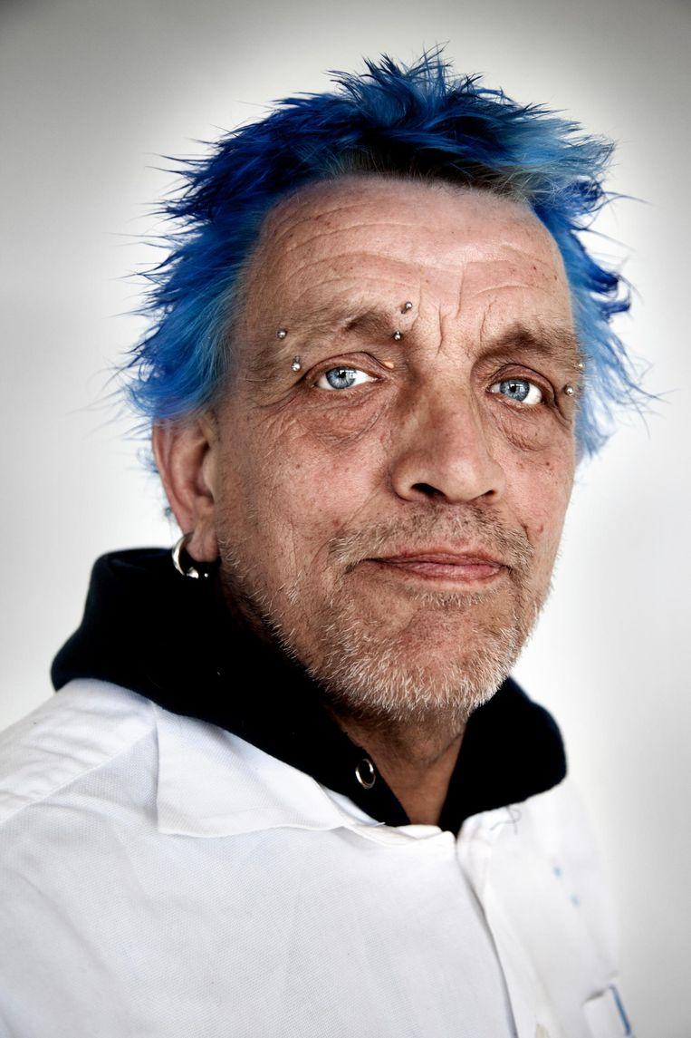 Bert Viergever: 'In West heb ik mijn eerste klap gekregen' Beeld Ernst Coppejans