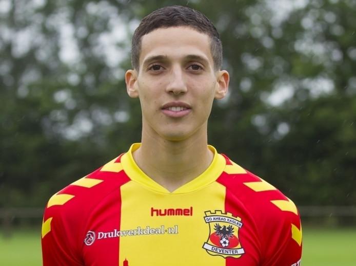 GA Eagles-speler Mohamed Hamdaoui