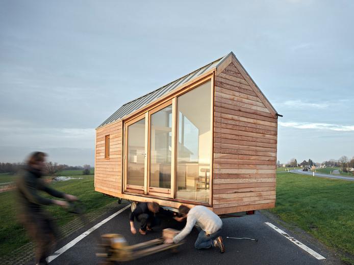 Zo tiny kan een klein huisje zijn. En toch met alle comfort.