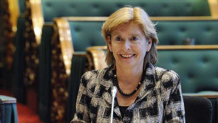 Guusje ter Horst, een van de kandidaten voor het voorzitterschap van de Senaat namens de PvdA.