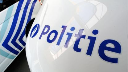 Bestelwagen belandt op flank in Rogiertunnel, maar bestuurder komt ongedeerd uit wrak
