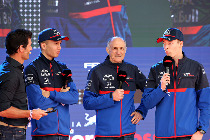 Het team van Toro Rosso.