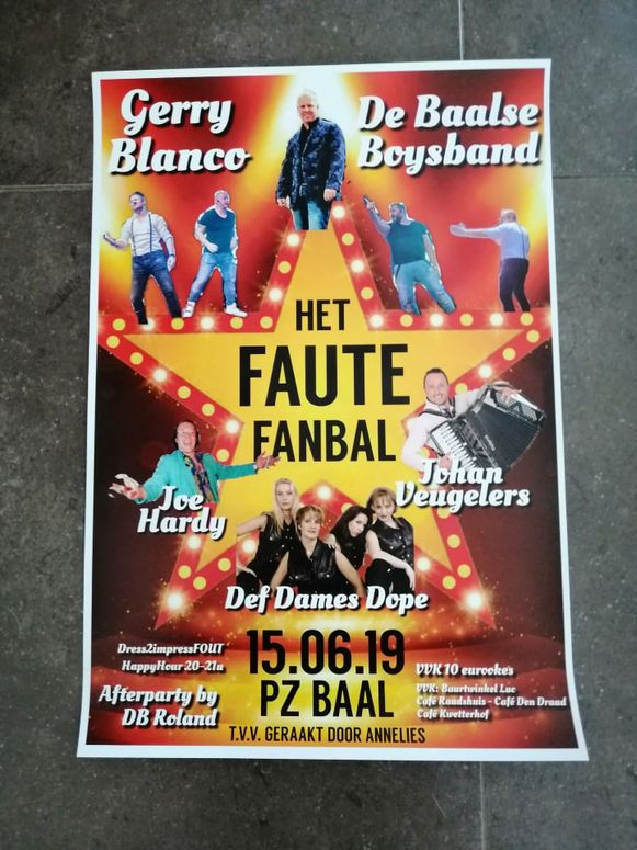 Deaf Dames Dope is headliner op tweede editie Faute Fanbal