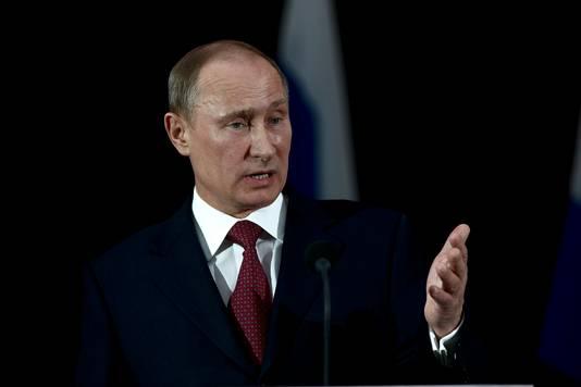 President van Rusland Vladimir Poetin.