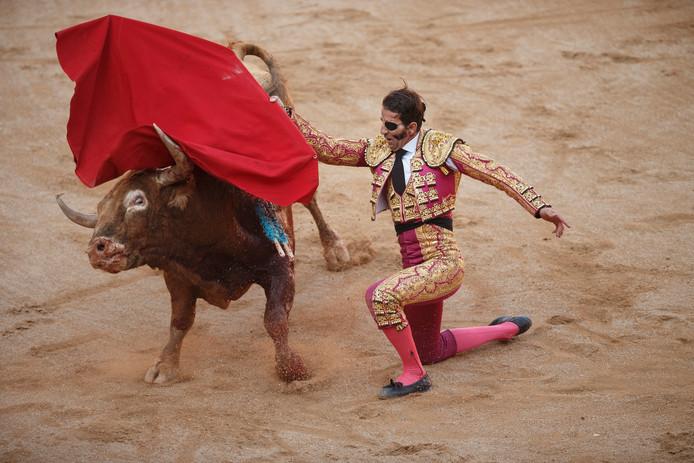 De Spaanse stierenvechter J.J. Padilla wordt in zijn thuisland vereerd als een heilige.