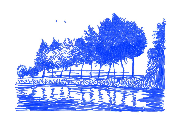 De vroege werken die Mondriaan schildert aan het Gein bieden een inkijkje in zijn ontwikkeling van figuratief naar abstract. Beeld Joost Stokhof