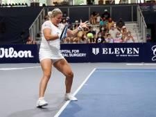 Kim Clijsters encore sur la touche mercredi